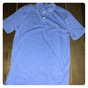 Men's Polo Ralph Lauren Shirt - Size Medium Blue